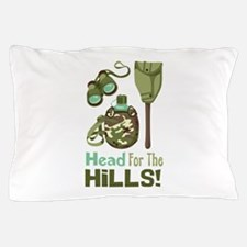 Head for the Hills Pillow Case