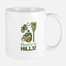 Head for the Hills Mugs