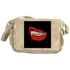 Vampire Lips Messenger Bag
