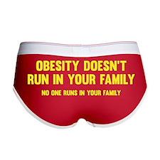 Obesity Doesn't Run In Your Family Women's Boy Bri