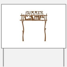Summer Camp Sign Yard Sign