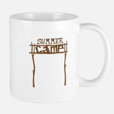 Summer Camp Sign Mugs