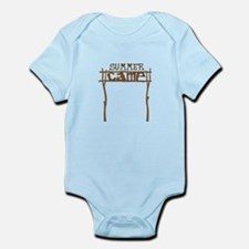 Summer Camp Sign Body Suit
