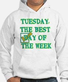 Tuesday, The best Day of the wee Hoodie