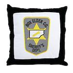 Box Elder Sheriff Throw Pillow