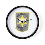 Box Elder Sheriff Wall Clock