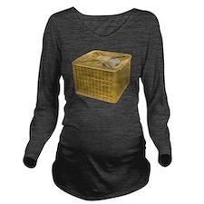 Golden AC Long Sleeve Maternity T-Shirt