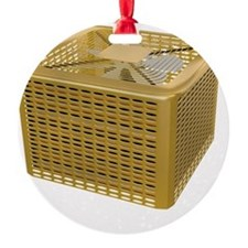 Golden AC Ornament