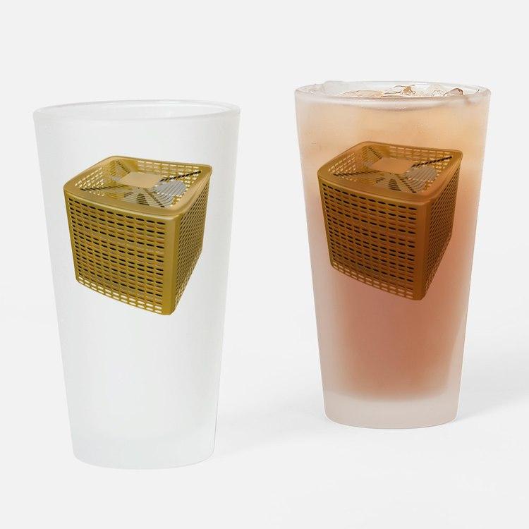 Golden AC Drinking Glass