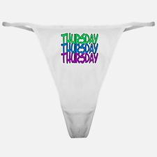 thursday Classic Thong