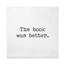 The Book Was Better. Queen Duvet