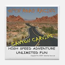 ORR Canyon Carving Tile Coaster