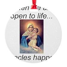 Choose Life Ornament