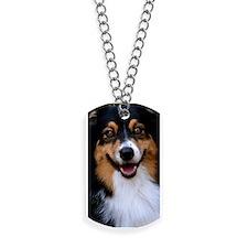Black Tri Phone Cover Dog Tags