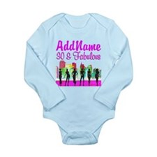 30TH NEW YORK Long Sleeve Infant Bodysuit