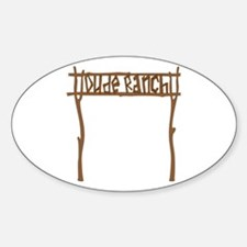 Dude Ranch Decal