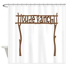 Dude Ranch Shower Curtain