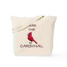 FEAR THE CARDINAL Tote Bag
