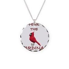 FEAR THE CARDINAL Necklace