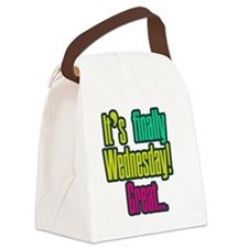 Its finally wednesday! Great Canvas Lunch Bag