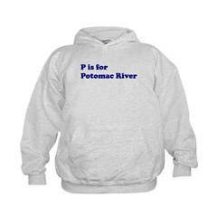 P is for Potomac River Hoodie