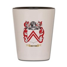 Moyer Coat of Arms - Family Crest Shot Glass