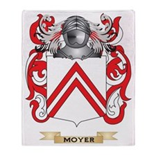 Moyer Coat of Arms - Family Crest Throw Blanket