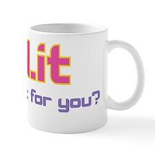 SZL tagline pink Mug