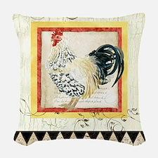 Spangled Allen Setter Rooster Black n White Woven