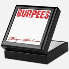 THE BURPEE - BLACK Keepsake Box