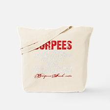 THE BURPEE - BLACK Tote Bag