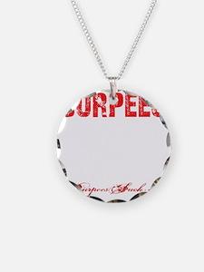 THE BURPEE - BLACK Necklace