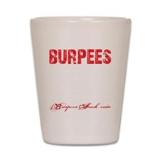 THE BURPEE - BLACK Shot Glass