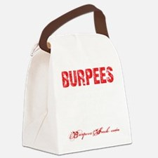 THE BURPEE - BLACK Canvas Lunch Bag