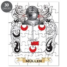 Mullen Coat of Arms - Family Crest Puzzle