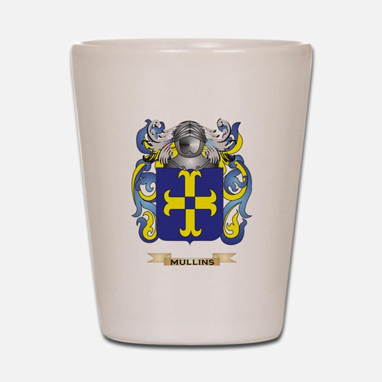 Mullins Coat of Arms - Family Crest Shot Glass