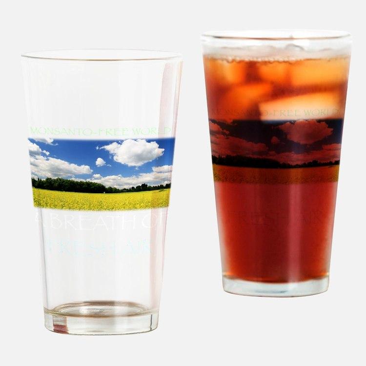 Monsanto-Free World - A Breath of F Drinking Glass
