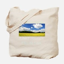 Monsanto-Free World - A Breath of Fresh A Tote Bag