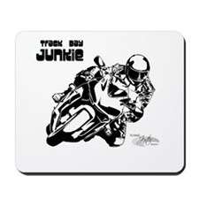 Track Motorcycle Mousepad