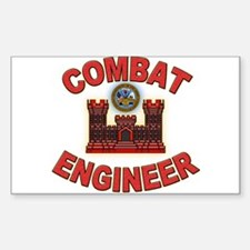 US Army Combat Engineer Brick Decal