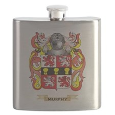 Murphy Coat of Arms - Family Crest Flask