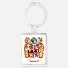 Murphy Coat of Arms - Family Cre Portrait Keychain