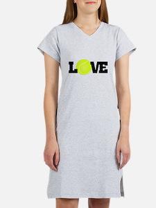 Tennis Love Women's Nightshirt