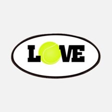 Tennis Love Patches