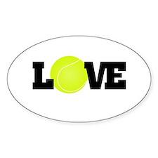 Tennis Love Decal