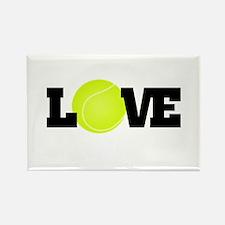 Tennis Love Magnets