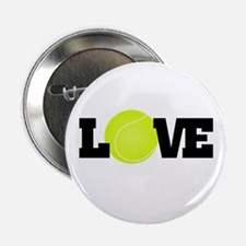 "Tennis Love 2.25"" Button"