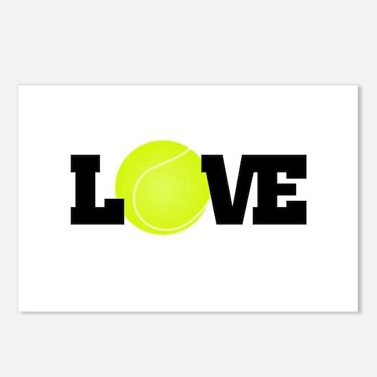 Tennis Love Postcards (Package of 8)