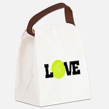 Tennis Love Canvas Lunch Bag