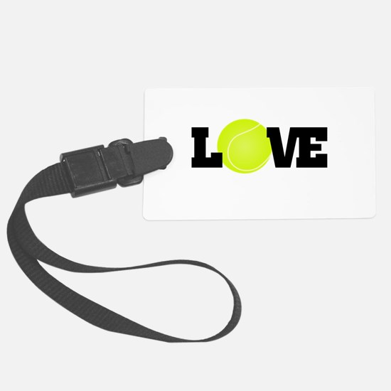 Tennis Love Luggage Tag